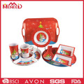 Hot design holiday producs plastic melamine Christmas dinnerware