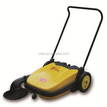 Hand push manual floor sweeper brush machine cleaning equipment