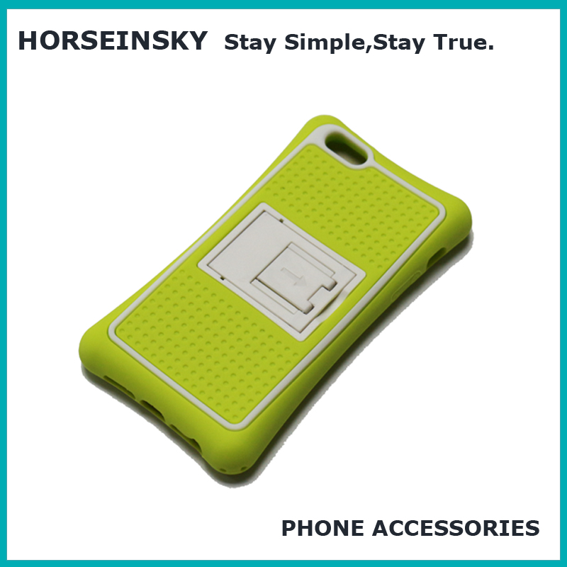 2017 new silicone shockproof kickstand phone case printer for iphone 7 case