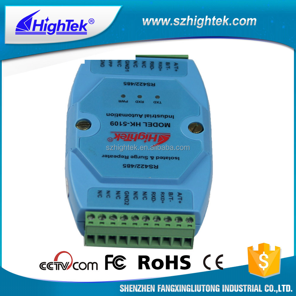 Grade RS485/422 Photoelectric Isolated Data Repeater (Industrial Module)