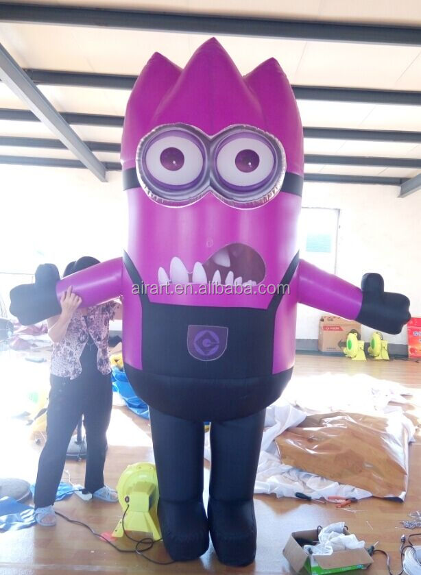 cute perfomance decoration inflatable mascot costumes