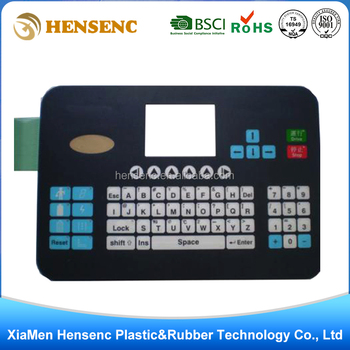 OEM Professional Customized High Quality Intelligent home appliances membrane switch keypad