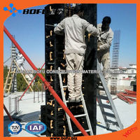 concrete formwork system, easy to build villa, low cost house