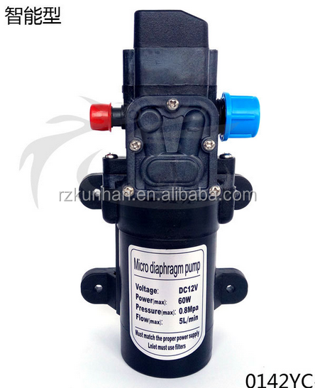 DC 12v 24v high pressure electric high pressure water pump 12v with pressure switch