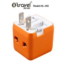 2016 Otravel Universal Single USB travel charger AC DC adapter with EU/US/UK/AUS Plugs