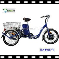 350W three wheels electric cargo bicycles with EEC approval from LOHAS KCTW001