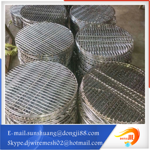 grill wire mesh for microphone/barbecue crimped wire mesh