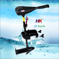40lbs sail outboard motor with new hand control