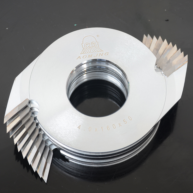 Tungsten carbide tips wood cutter blade finger jointing for laminator rubber