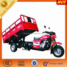 Hydraulic dumper powerful tricycles made in Chongqing China