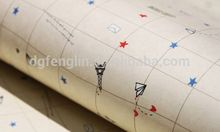 metal wrapping ,G237 white embossed craft wrapping paper