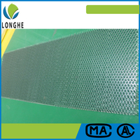 Improved aluminum composite panel aluminum honeycomb core