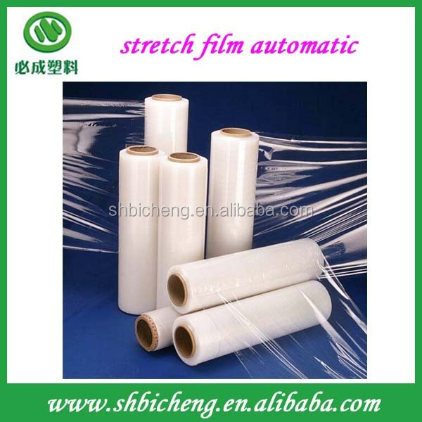 Hot sales Hand/automatic LLDPE Pe Pallet Stretch Film for packaging material