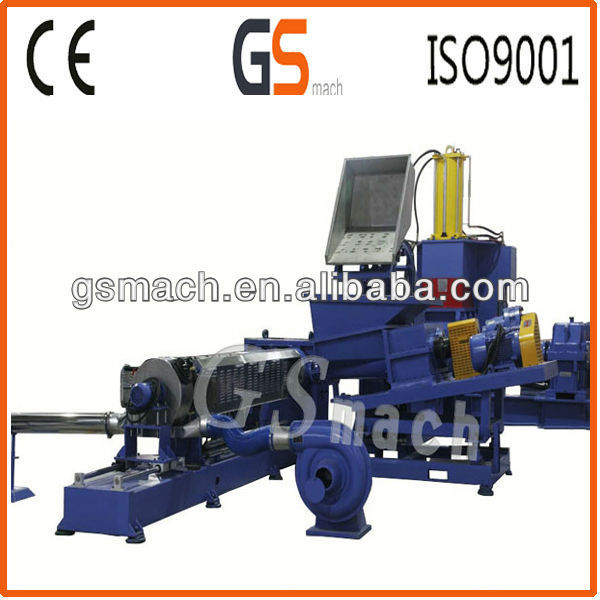 110L kneader single screw extruder Rubber accelerant master batch production line