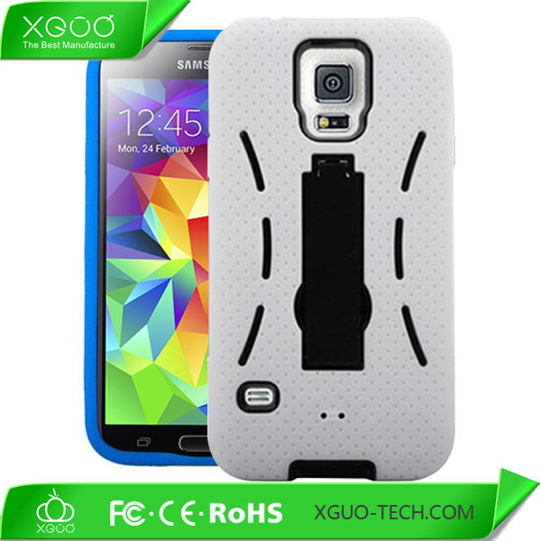 Slim armor case for galaxy s5 phone case with business card holder