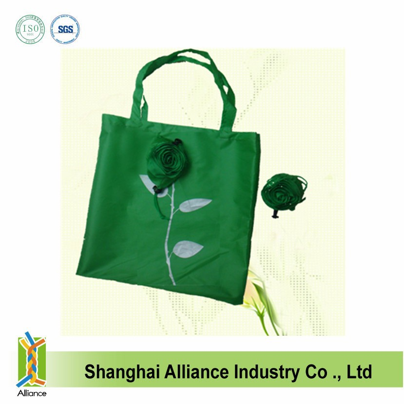 Flower Shaped Flodable Shopping Tote Bag/ Promo Gift Bag