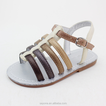 Sweet summer fancy shoes sandals for girls