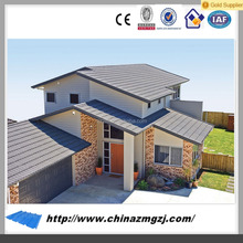 Manufacturer of color corrugated steel roofing sheets used for Warehouse