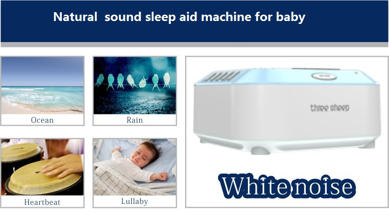 Patent Baby Sleep Sound Machine White Noise Machine with Nature Sounds
