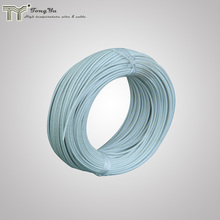 Silicone cloth fiberglass covered electrical cable wire 3.5mm