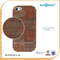 Unique Laser Pattern Ultra Thin Wholesale Mobile Real Wood Phone Case for iPhone 5 5S 6