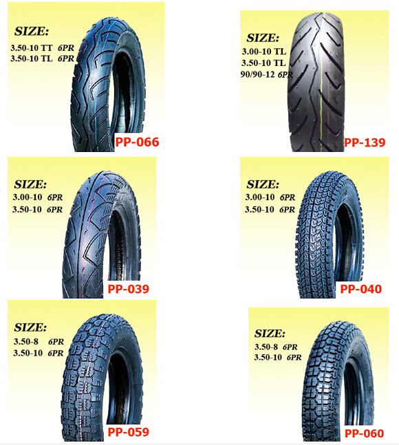 motorcycle scooter tyre 350-10 130/90-10 120/90-10 TL