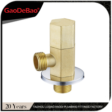 hot selling urinal brass angle valve with orginal color BS7795