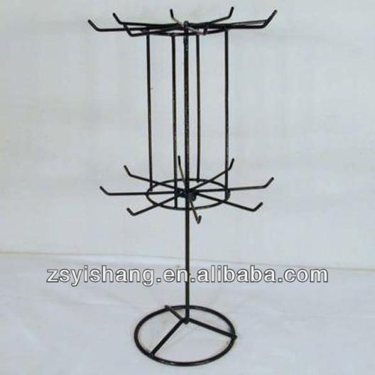 Counter Rotating Counter Peg Small Spinner Display Rack