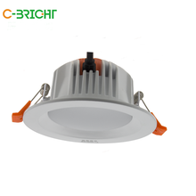 China manufacture commercial led lighting white dimmable led downlight price
