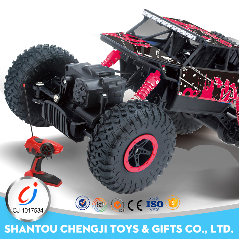 Newest popular 4WD Big Wheel Stunt Off Road rc 1:18 monster truck toys