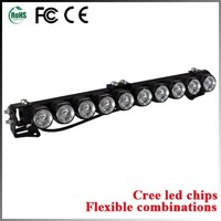 100w offroad work light bar 4x4 led driving light bar