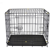 Lucky large outdoor chain link lowes double pet dog kennel buildings plastic wholesale factory direct / kennel for dogs