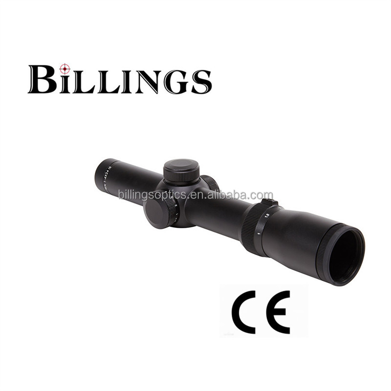 Guns Accessories Tactical Sniper Hunting Air Rifle Scope BIII30 1-4X24 IGR