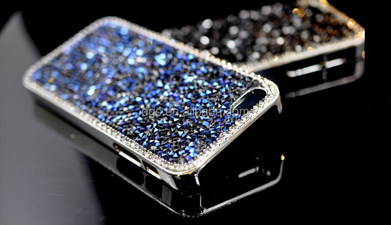 unique bling diamond cellphone hard case housing shell for iphone4/4s/5/5s/5c/6/6 plus,same for samsung galaxy s4 i9500/s3 i9300