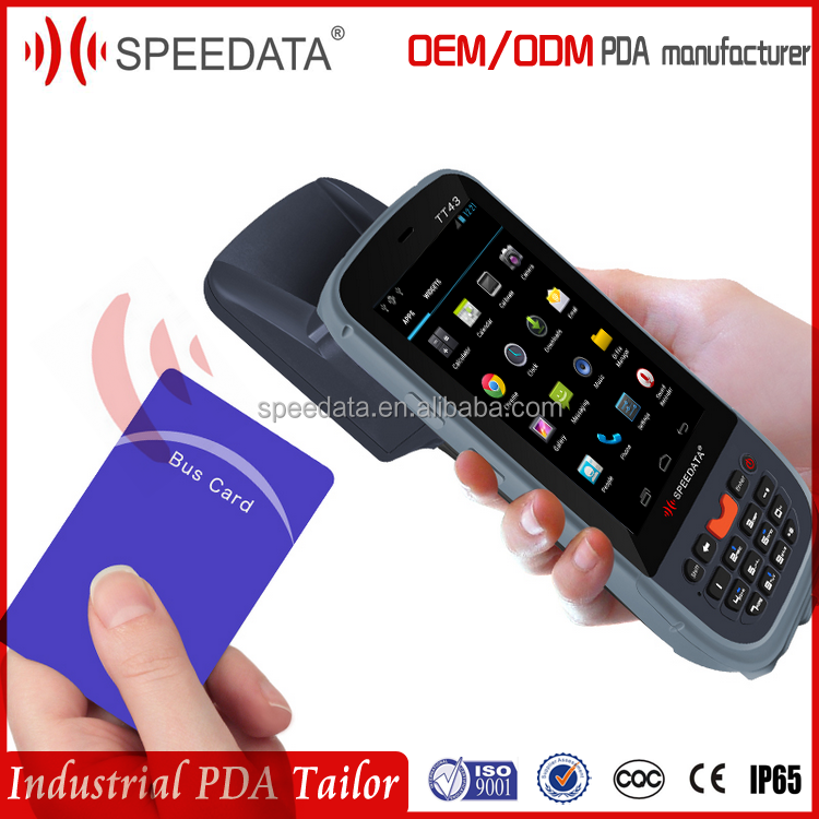 Waterproof and Dustproof IP65 Robust Wireless Mobile Data Terminal Handheld Android UHF 860-960MHZ EPC GEN2 RFID Reader/Writer