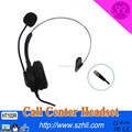 Call centre headset for Monaural headset phone&telephone headset for call centre with Telephone headphone with QD cord