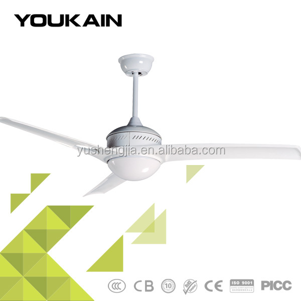 52 inch ABS plastic decorative rustic outdoor ceiling fan