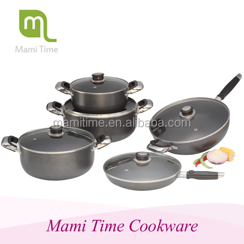 Aluminum Non-stick Coating Pinnacle Casserole and Fry Pan Set