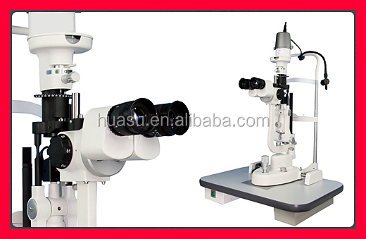 optometry LED illumination slit lamp tower style 10x 16x 25x China ophthalmic equipment