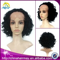 Trade Assurance New Aliexpress Curly Wholesale Cheap Short Afro Wigs for Black Women