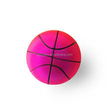 PVC inflatable 12cm 80g rainbow toy ball basketball for children