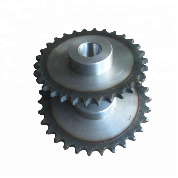 12A / 16A duplex chain sprocket with 13 T