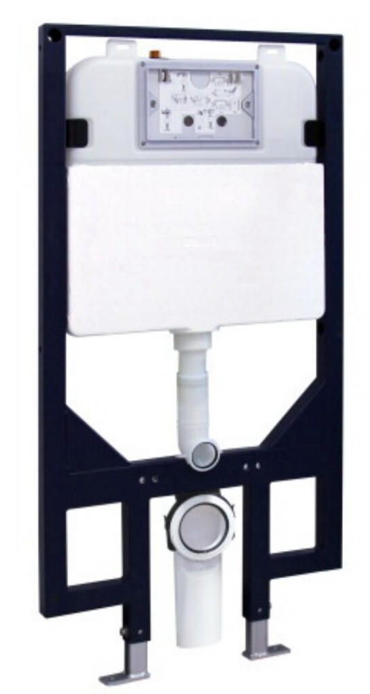 Sanitary ware watermark dual flush valve wall hung toilet concealed cistern G30031