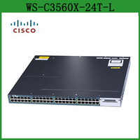 In Stock Catalyst WS-C3560X-24T-L 24 port Gigabit Layer 2 Ethernet Switch