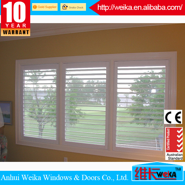 2014 good quality new built-in windows with shutters
