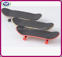 Wholesale price 9.85cm Canadian Maple /Wood Fingerboard /Kids funny Fingerboard with Non grip tape