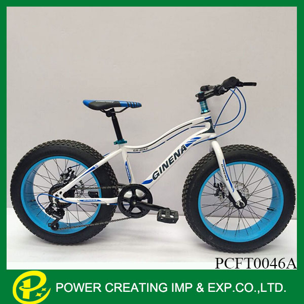 20'' children funny mini beach cruiser fat bike snow bike