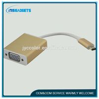 TSJ0048 usb3.1 male to vga adapter display port female to dvi male adapter usb 3.1 type-c (usb-c) to vga cable adapter