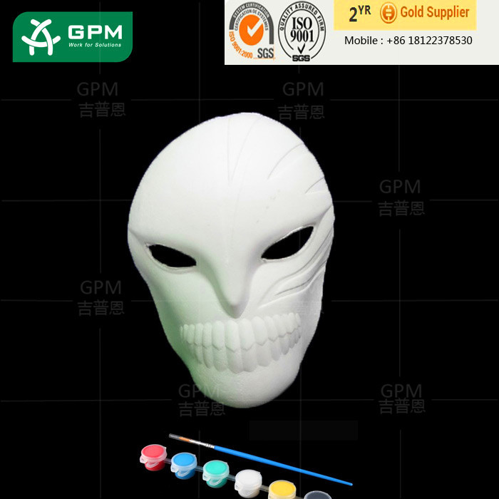 Professional hand painted ceramic mask with CE certificate