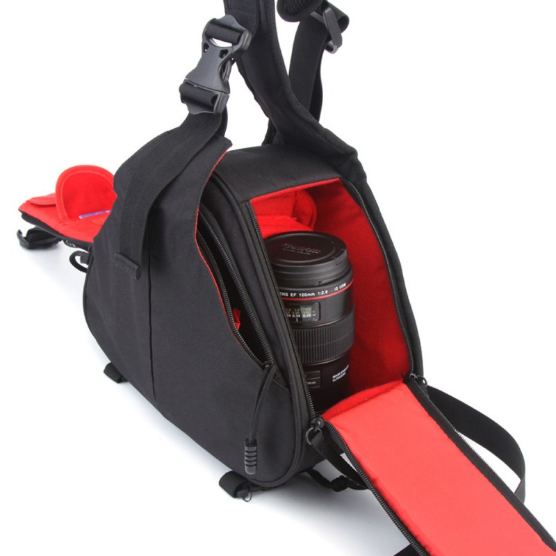 CADeN Sling Shoulder Cross Camera Bags Video Photo Digital DSLR Case Waterproof with Rain Cover for Dslr Sony Nikon Canon K1
